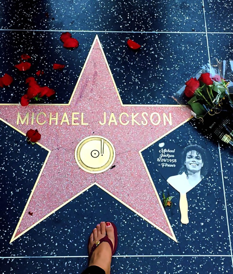 Walk of Fame in Hollywood Los Angeles